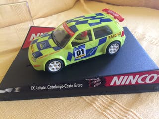 Coche de scalextric Vw Golf
