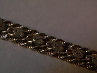 Pulsera de plata italiana 925