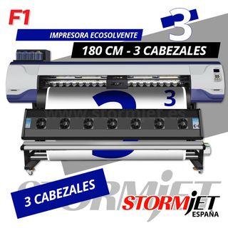 OFERTA impresora ecosolvente digital de 3 cabezale