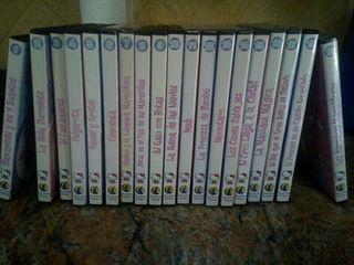 colección películas DVD Hello Kitty