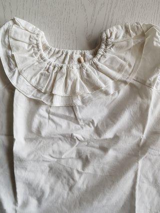 camisa nicoli niña talla 1 mes