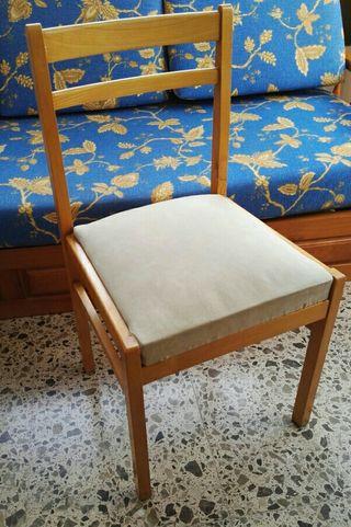 sillas comedor de pino en Benidorm