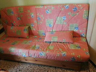 sofá cama tipo libro, en Benidorm