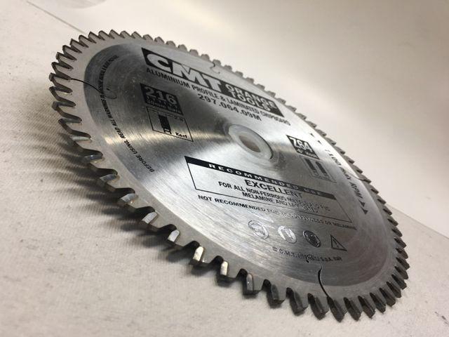 Disco de corte de aluminio