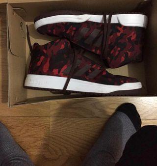 zapatillas adidas altas 41