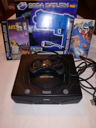 Consola Sega Saturn De Segunda Mano En Wallapop