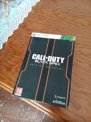 Call of Duty Black Ops 2 edicion blindada Xbox 360