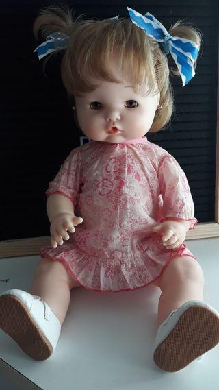 Conjunto vestido camison para muñeca Carolle