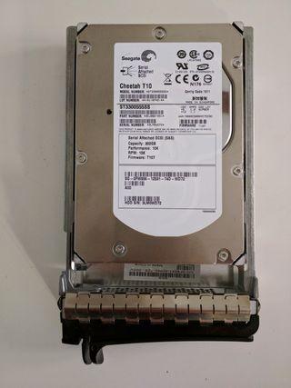 Disco duro Servidor SAS 300 Gb