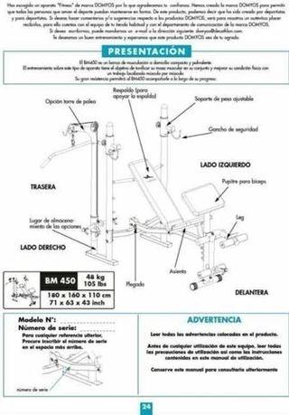 aparato de musculacion BM450