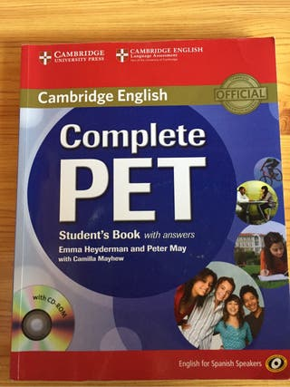 Complete pet with answers con CD