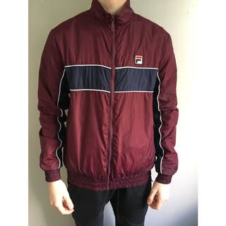 Veste FILA white line, M, SAMPLE