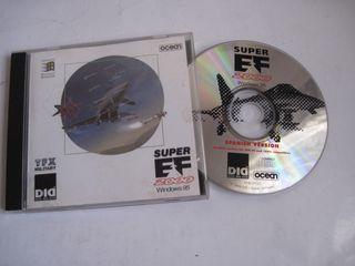 juego pc ordenador super ef 2000 cd windows 95