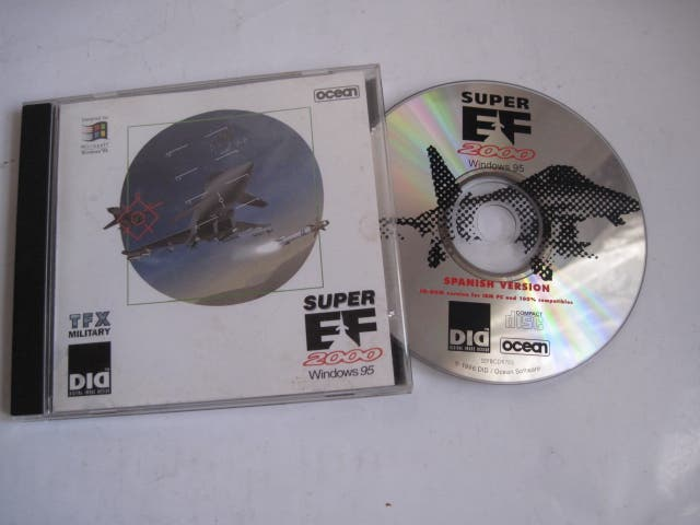 Juego Pc Ordenador Super Ef 2000 Cd Windows 95 De Segunda Mano Por