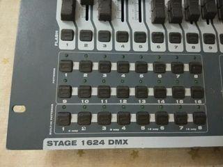 meza de luces work stage 1624 dmx