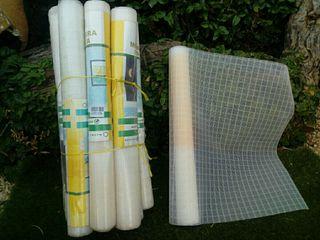 Rollos de tela mosquitera de plástico