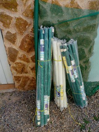 Rollos de tela mosquitera de fibra de vidrio