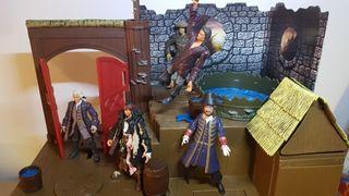 Piratas del Caribe escenario