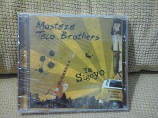 Cd de MOSTAZA TACO BROTHERS ( ROCK ) ( PRECINTADO