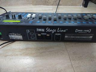 controlador de luces stage line dmx