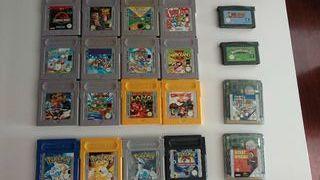 Juegos Nintendo Game Boy y Advance