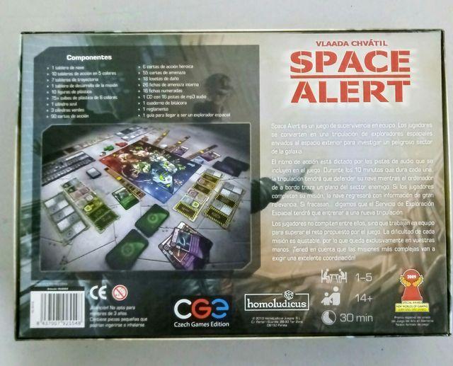 Juego de mesa Space Alert + expansión (castellano)