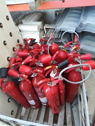 extintores co2 llenos para acuario 3 y 5 kg