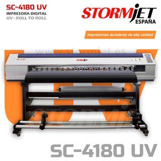 Impresora para interior y exterior tintas UV