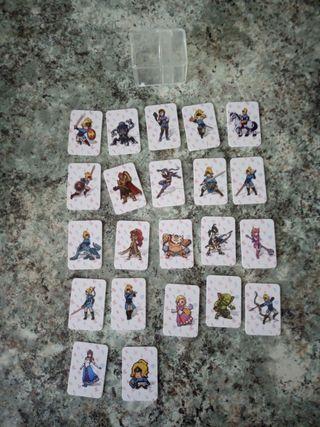 Lote mini tarjetas amiibo. Nintendo switch