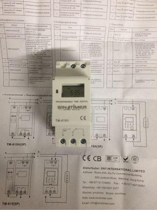 Temporizador controlador