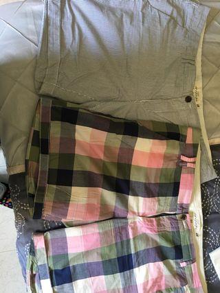 Pantalon chino Hym talla 46 de rayas y cuadrados
