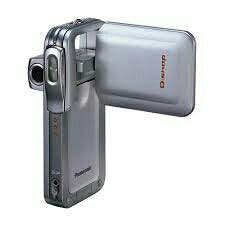 Panasonic DSnap silver videocamara