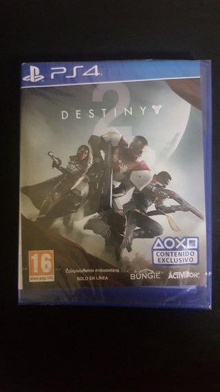 Destiny 2 precintado Ps4