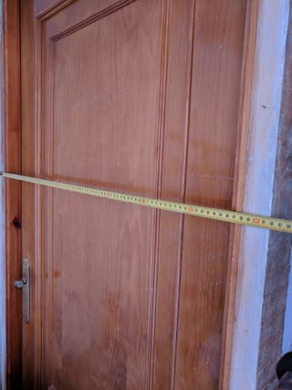 puerta de madera para interior