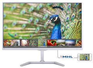 "Monitor Philips 27"" blanco"