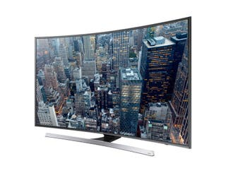 TV LED de 55 '', curva, UHD / 4K, Smart TV, 3D