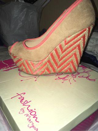 Zapato cuña NUEVO
