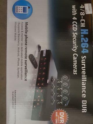 camaras seguridad video vigilancia y grabador
