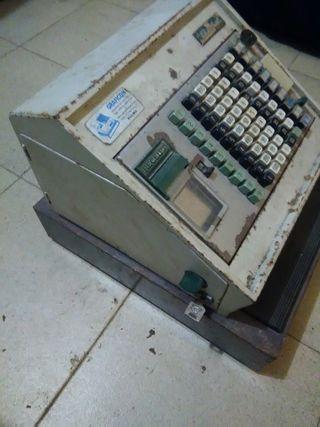 Caja registradora antigua Gold