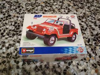 Maqueta Jeep Wrangler 1980 (Burago)