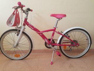 Bicicleta de niña+Casco
