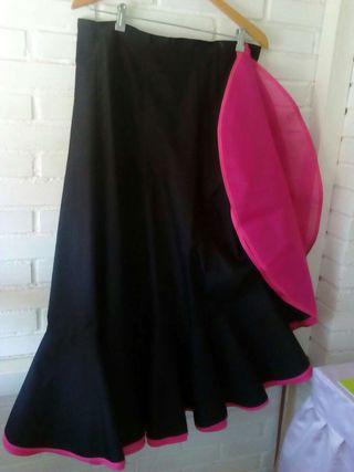 Falda flamenca mujer