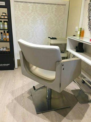 bomba hidráulica, sillón peluqueria