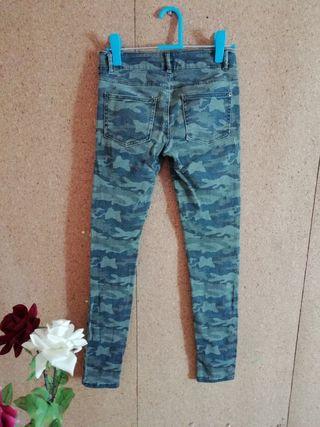 Pantalón militar talla 34