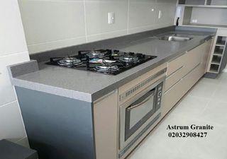 Grey Starlight Quartz Kitchen Worktop Your Price