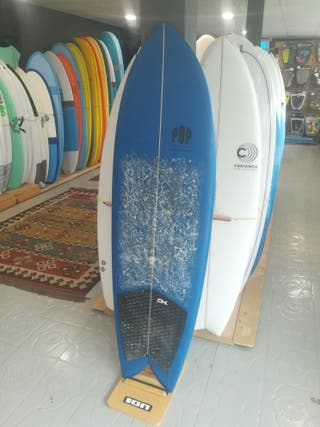 Tabla Surf twinfin fish