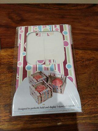 caja para un cupcake