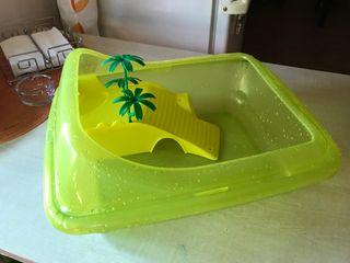 Tortuguera plastico