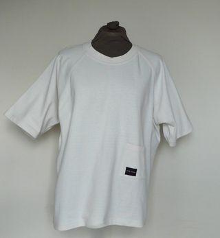 """T-shirt ecru """"Mât de misaine"""" Unisex T. M"""