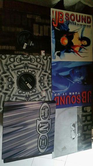 lote 100 discos vinilo italodance 94-01